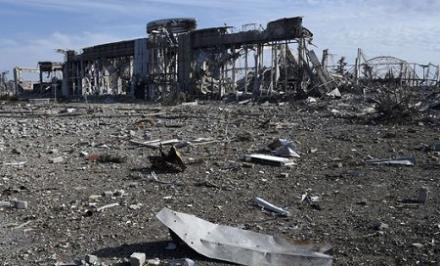 В Донецькому аеропорту застосована невідома зброя