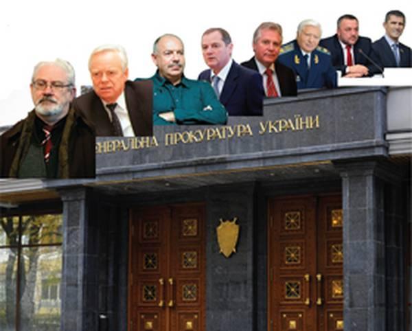 Кому служили Генпрокуроры Украины