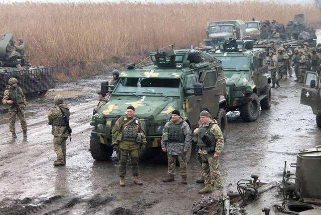 Обстановка на Донбассе резко обострилась