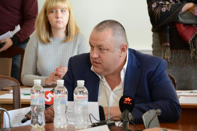"""Мищенко отстоял строительство ТРЦ на """"Героев Днепра"""""""