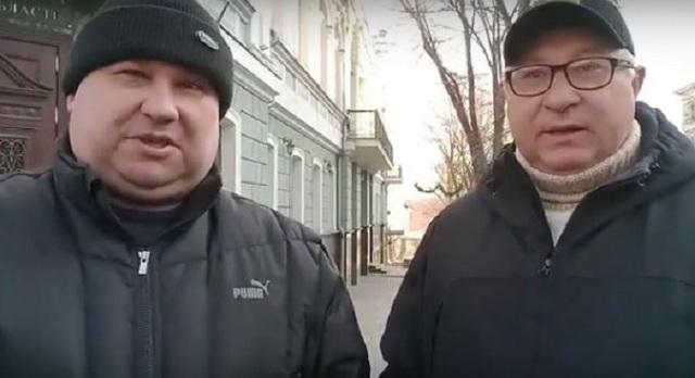 В Одессе «общественники» защищают врача-коррупционера с элитным особняком
