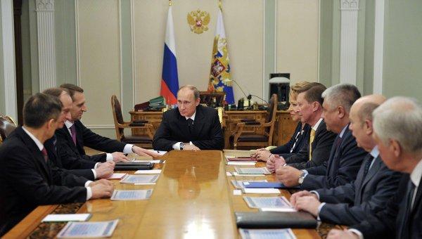 Путин срочно собрал Совбез безопасности из-за реинтеграции Донбасса