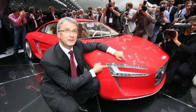 Топ-руководителя Audi обвиняют в мошенничестве