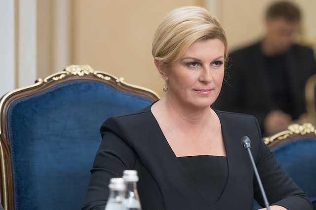 Президент Хорватии встретится с Медведевым на матче сборных в Сочи