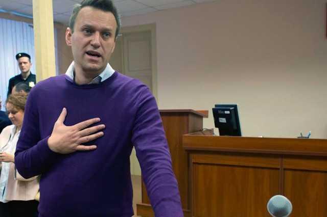 Навального задержали на выходе из спецприемника после ареста