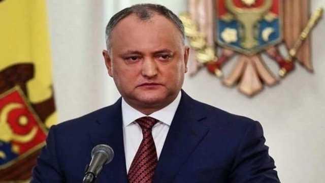 Президент Молдовы отстранен от должности