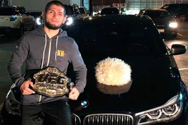 Боец Нурмагомедов пригрозил разбить машину президенту UFC Уайту