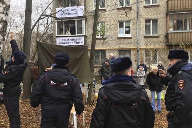 В Москве задержали муниципального депутата и члена избирательной комиссии, выступающих против застройки района Кунцево