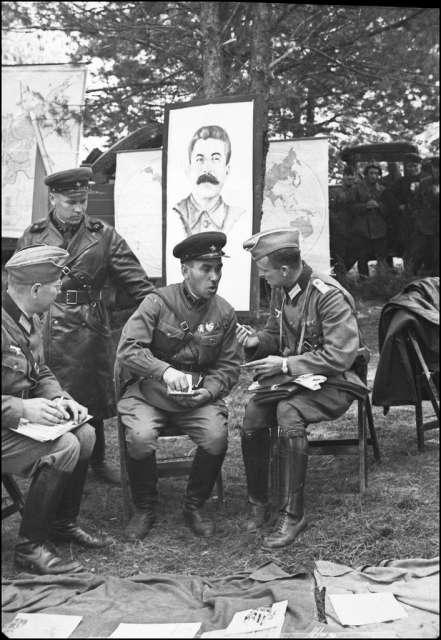 Советско-немецкий парад в Бресте, 1939 г.