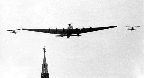 Maksim Gorkyi Aircraft.