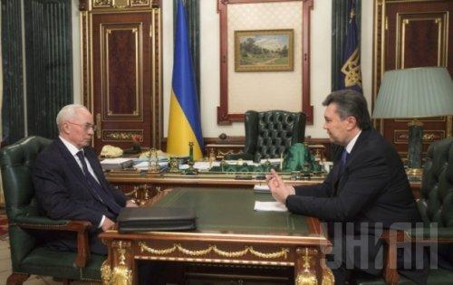 Азаров Янукович отставка
