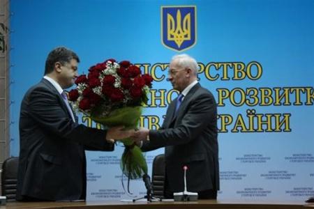 Азаров Порошенко