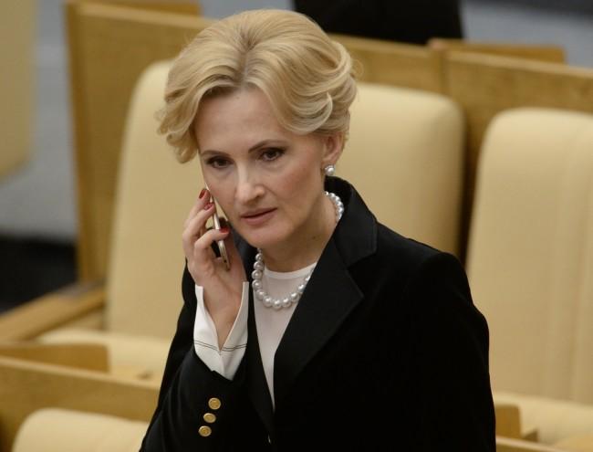 Ирина Яровая. Фото Sputnik/Scanpix