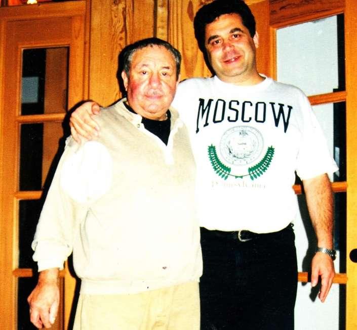 Эрнст Неизвестный и Игорь Свинаренко. Фото: Из личного архива автора