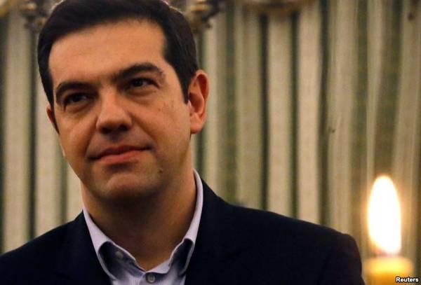 Новый премьер Греции Алексис Ципрас