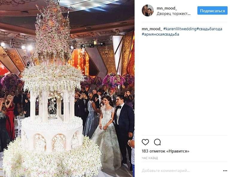 Свадьба Карена Карапетянаи Лилит — фото 74517