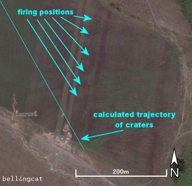 Firing position near Ukrainskiy, Russia