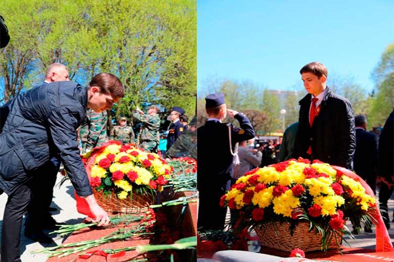 Иван Игнатьев на праздновании 9 мая