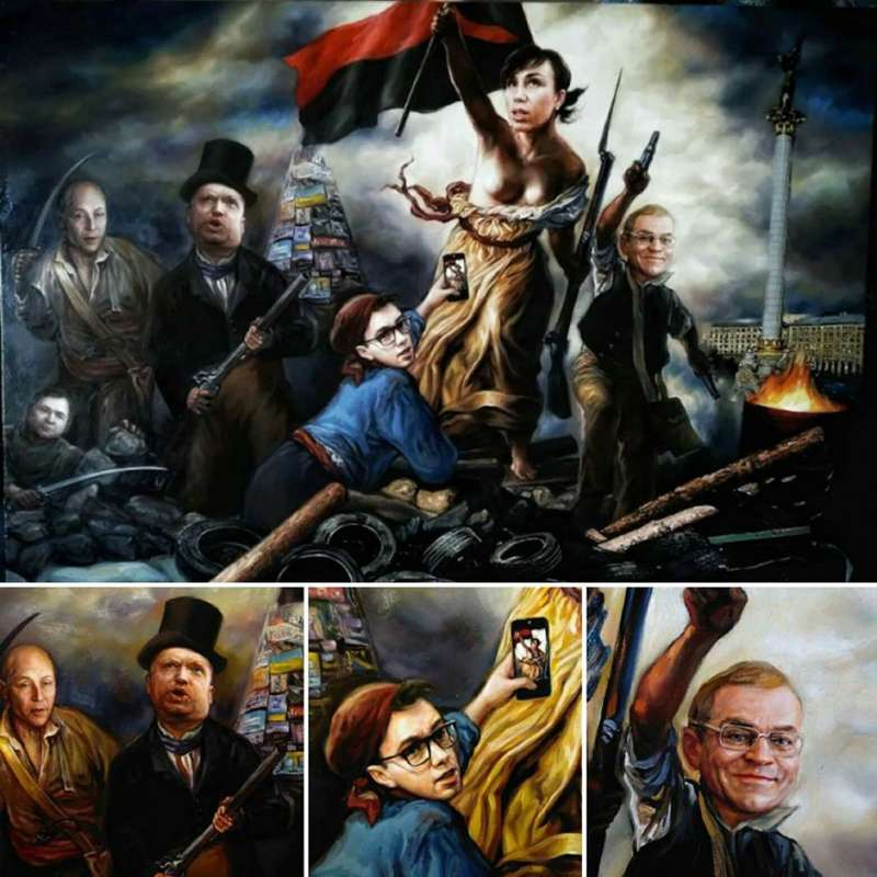 Картинки по запросу картина с Татьяной Черновол — фото